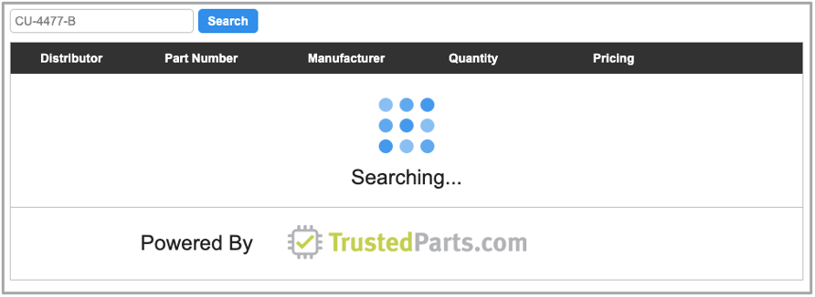 Introducing Our Redesigned Distributor Stock Search